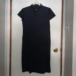Banana Republic cotton button down shirt dress